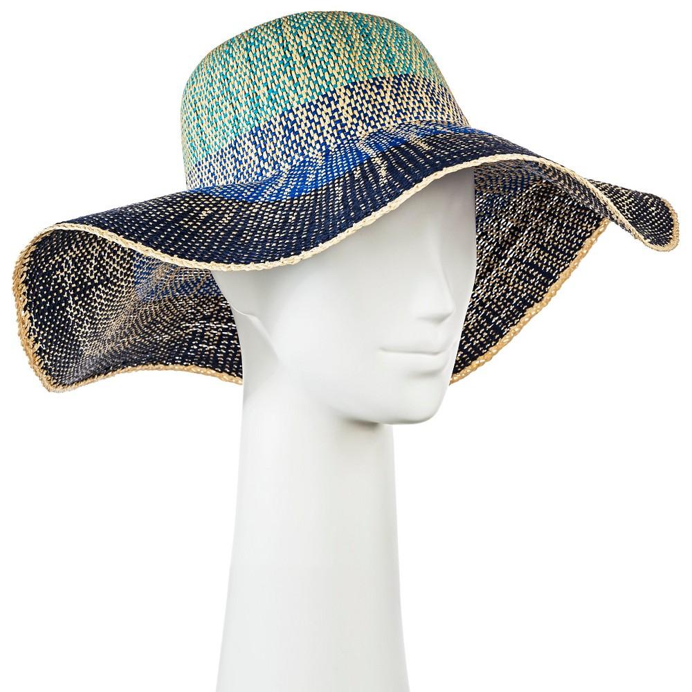 Womens Floppy Hat Blue Ombre - Merona