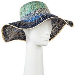 Women's Floppy Hat Blue Ombre - Merona™