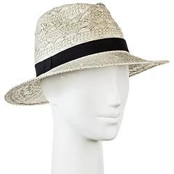 Women's Panama Hat Patterned Weave - Merona™
