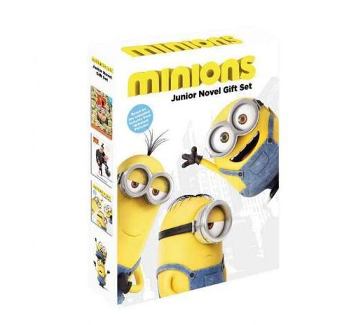 Minions : Junior Novel Gift Set: Minions/Despicable Me/Despicable Me2 (Paperback) - image 1 of 1