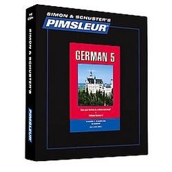 Pimsleur German Level 5 (Bilingual) (CD/Spoken Word) (Ruth Sondermann)