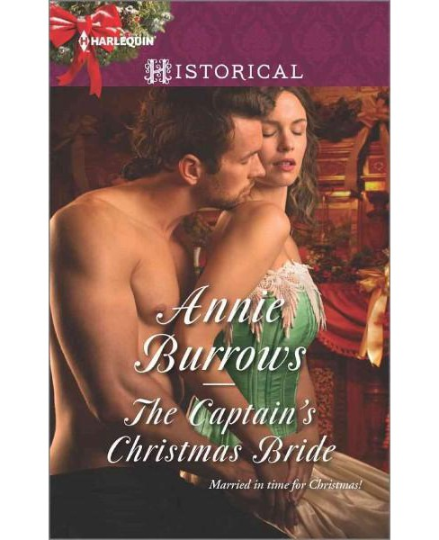 Captain's Christmas Bride (Paperback) (Annie Burrows) - image 1 of 1