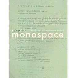 Monospace (Paperback) (Anne Parian)