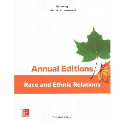 race and ethnic relations There has been no recent reference book on the sociology of racial and ethnic relations, so this work fills a real gap in the literature a true international collaboration drawing together a.