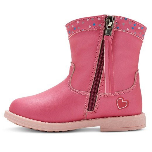 Toddler Girls' Peppa Pig Cowboy Boots - Pink : Target