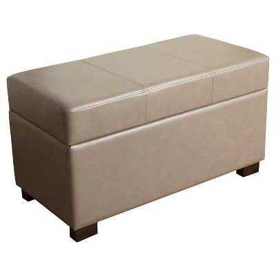 Essex Basic Storage Bench - Taupe - Threshold™