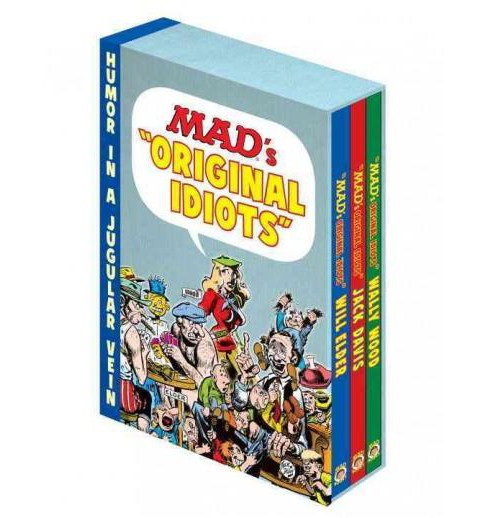 "Mad's ""Original Idiots"" : Complete Collection of Will Elder, Jack Davis and Wally Wood (Paperback) - image 1 of 1"