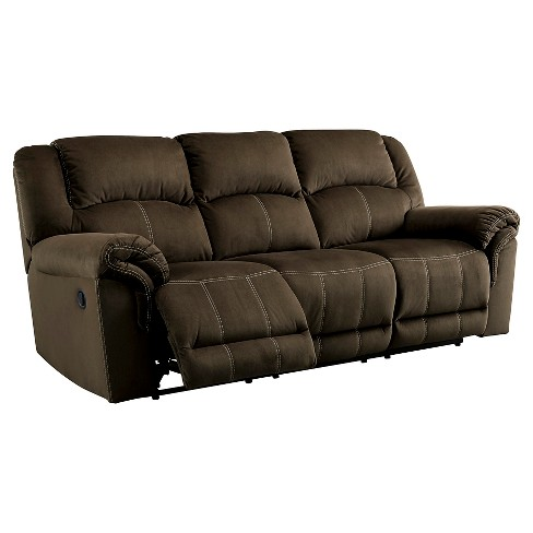 Quinnlyn Reclining Sofa Coffee - Signature Design by Ashley - image 1 of 1