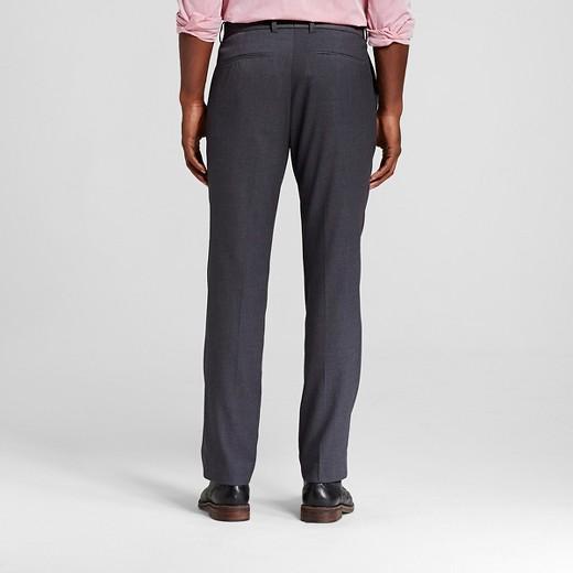 Men's Slim Fit Suit Pants Gray - Merona™ : Target