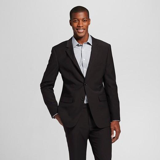 Men's Slim Fit Suit Jacket Black - Merona™ : Target