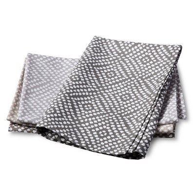 Gray Polka Dots Napkin (Set of 4)- Threshold™