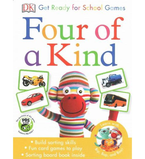 Four of a Kind ( DK Get Ready for School Games) (Mixed media product) - image 1 of 1