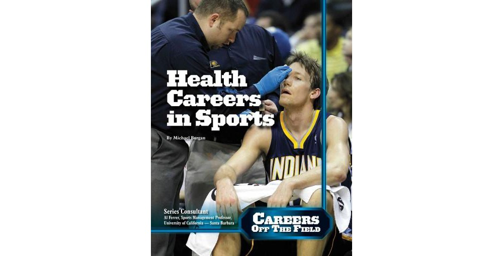 Health Careers in Sports (Library) (Michael Burgan)