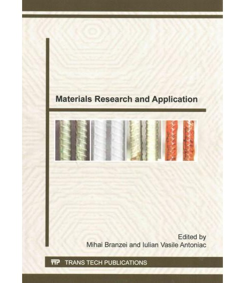 Materials Research and Application : Selected, Peer Reviewed Papers from the 5th International - image 1 of 1