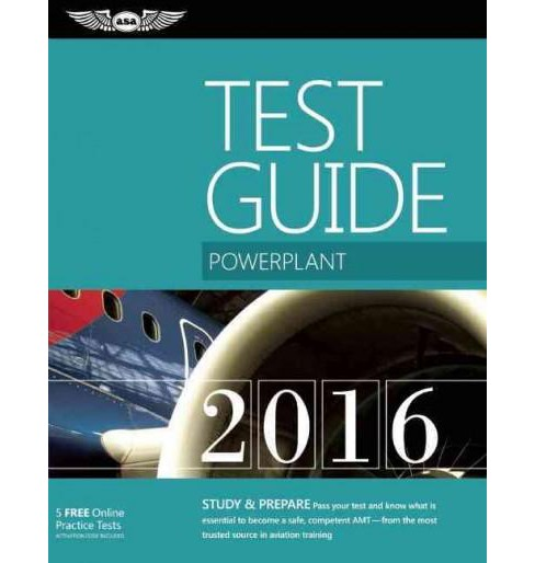 Powerplant Test Guide 2016 (Paperback) - image 1 of 1