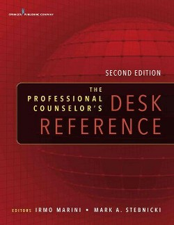 Professional Counselor's Desk Reference (Paperback)