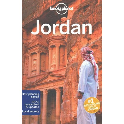 Lonely Planet Jordan Paperback Jenny Walker  Paul Clammer