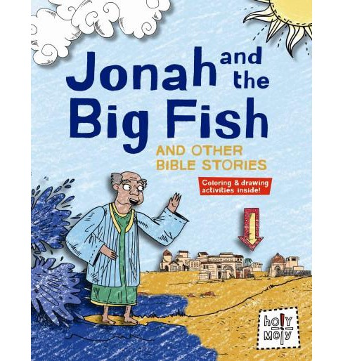 Jonah and the Big Fish and Other Bible Stories (Hardcover) (Rebecca Glaser) - image 1 of 1