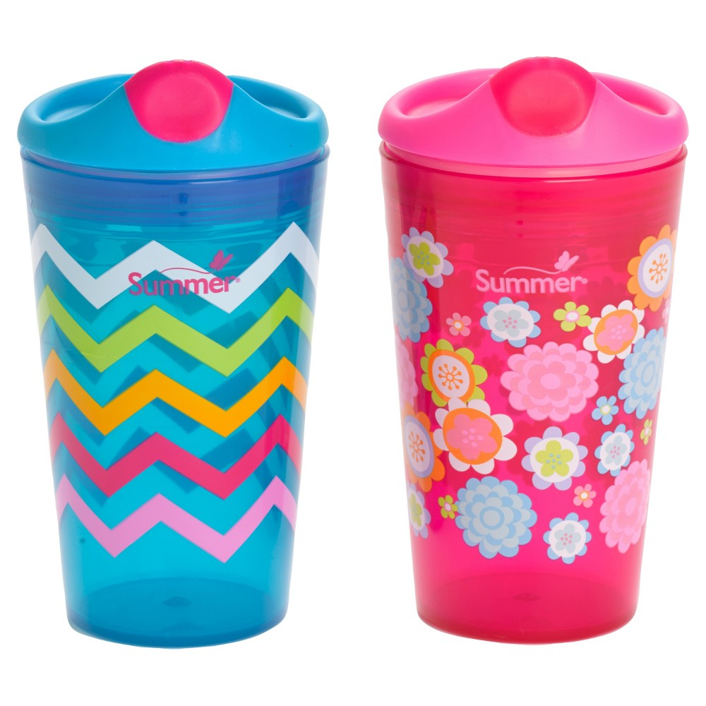 Summer Infant Sippy Cup, Pink
