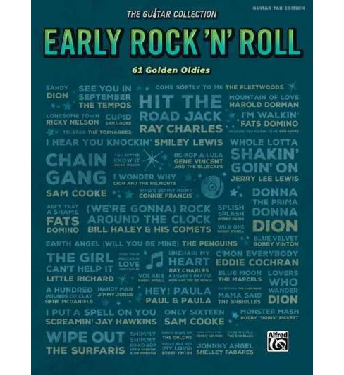 Early Rock 'N' Roll : 61 Songs That Started Modern Music (Paperback) - image 1 of 1
