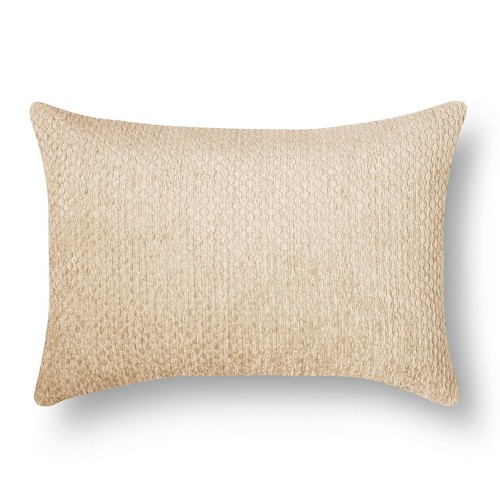 'Tan Chenille Lumbar Throw Pillow (20''X14'') - Threshold'