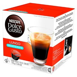 Nescafe® Dolce Gusto Lungo - Decaf - Coffee Capsules - 16ct