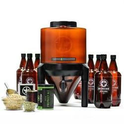 BrewDemon™ 2-Gallon Conical Plus Beer Kit - Amber