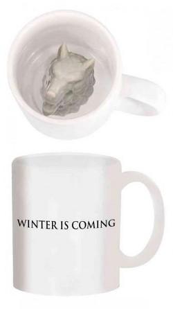 Game of Thrones Stark Direwolf Sculpted Mug (Accessory)