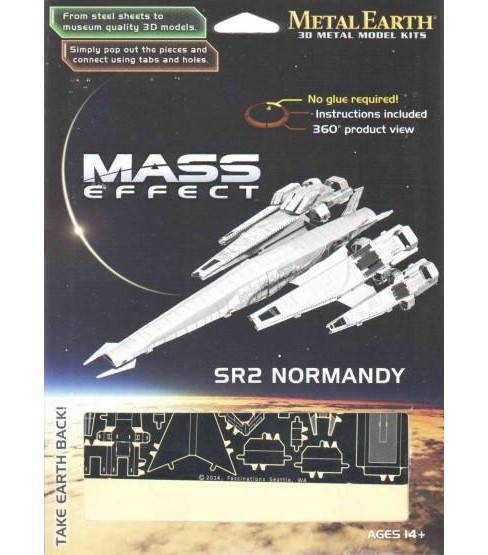 Mass Effect 3d Laser-cut Model Normandy Sr2 (Accessory) - image 1 of 1
