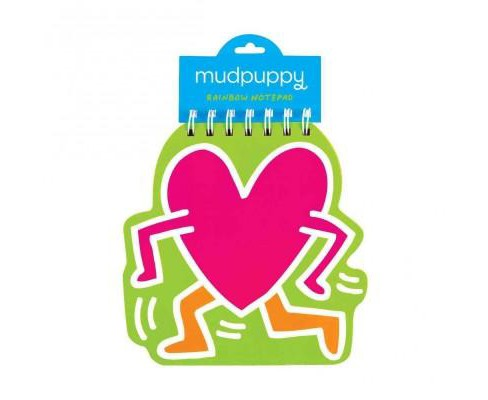 Keith Haring Heart Rainbow Notepad (General merchandise) - image 1 of 1