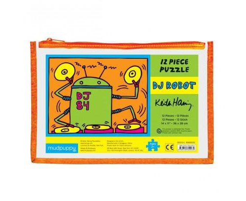 Keith Haring Dj Robot Pouch Puzzle (General merchandise) - image 1 of 1