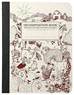 Barnyard Large Decomposition Ruled Book (Paperback) (Michael Roger)