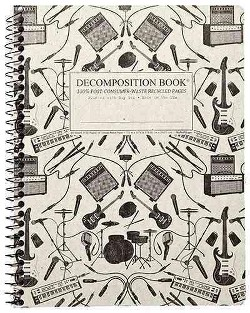 Plugged in Coilbound Decomposition Ruled Book (Paperback)