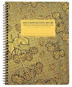 Cascade Hops Coilbound Decomposition Ruled Book (Paperback) (Michael Roger)