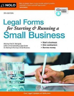Legal Forms for Starting & Running a Small Business (Paperback) (Fred S. Steingold)
