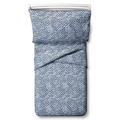 Fetching Florals Sheet Set - Toddler - 3 pc - Blue - Pillowfort™