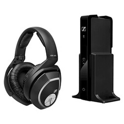 Sennheiser Cordless Headset with Bass Boost Ideal for Television - Black