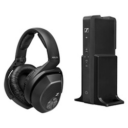 Sennheiser Cordless Headset with Bass Boost and Surround Sound - Black