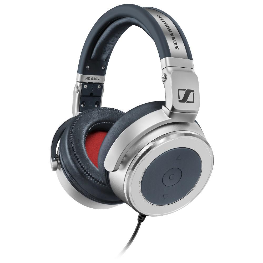 Sennheiser HD630VB Around-Ear Headphones with Variable Bass (iOS/Android/Windows Mobile) - Black/Silver