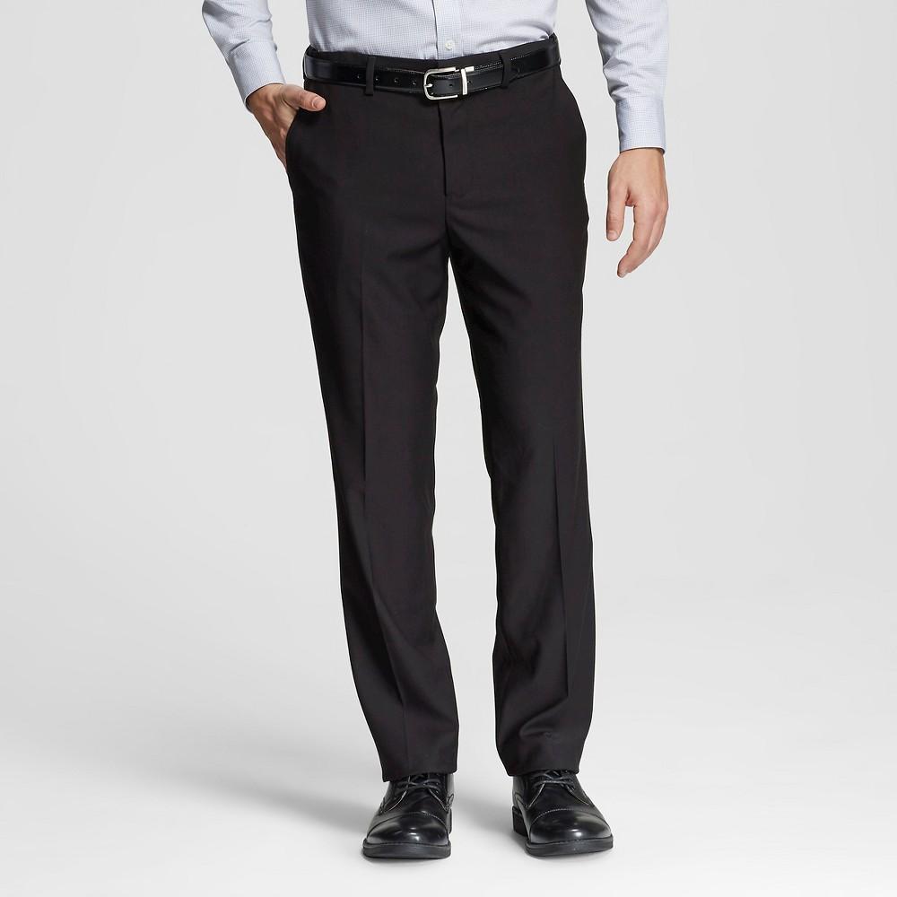 Mens Classic Fit Suit Pants Black 31x32 - Merona