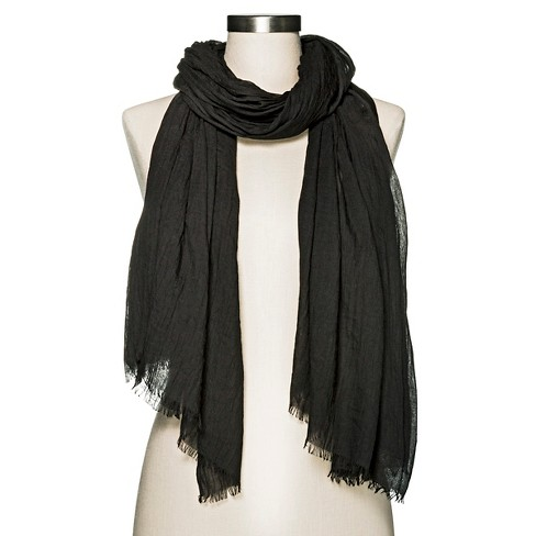 Women's Solid Oblong Scarf - Merona™ - image 1 of 2