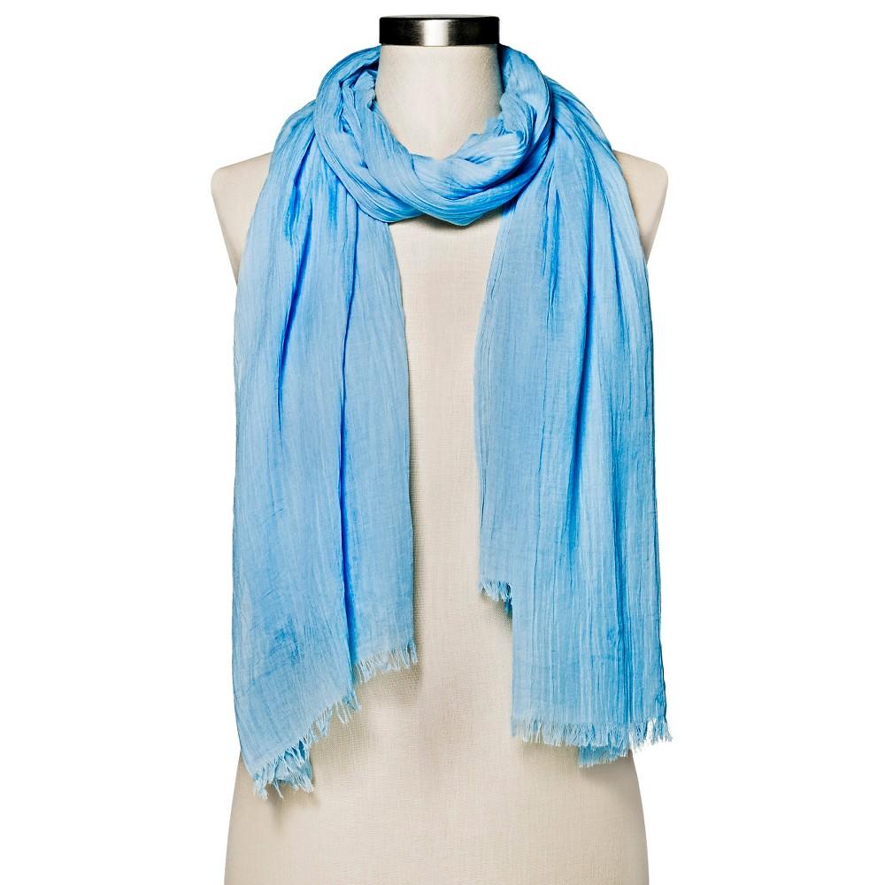 Womens Light Blue Amazing Basic Oblong Scarf - Merona, Lite Blue