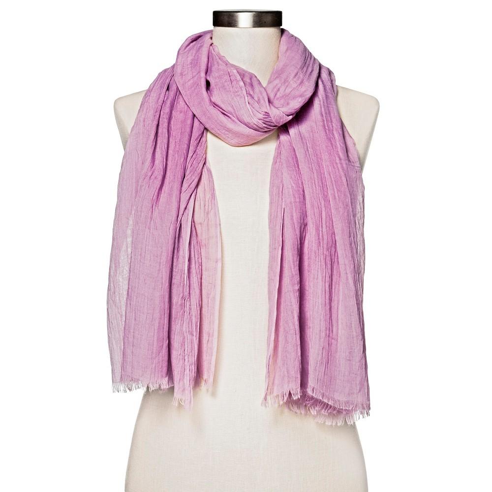 Womens Lilac (Purple) Amazing Basic Oblong Scarf - Merona