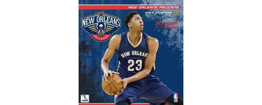 New Orleans Pelicans 2016 Calendar (Paperback)