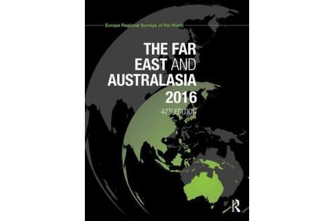 Far East and Australasia 2016 (Revised) (Hardcover) - image 1 of 1