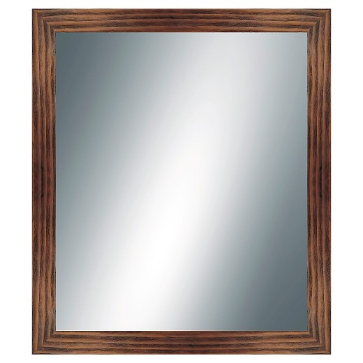 Rectangle Decorative Wall Mirror Reclaimed Wood Finish - PTM Images : Target - Rectangle Decorative Wall Mirror Reclaimed Wood Finish - PTM