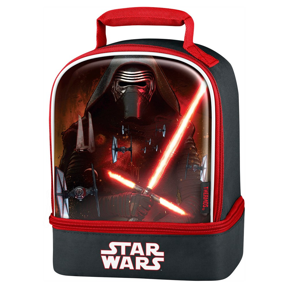 Thermos Star Wars EP Vii Dual Lunch Bag - Black