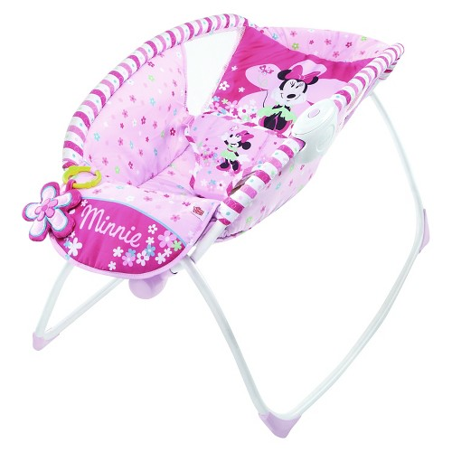 Disney Baby Minnie Mouse Bows & Butterflies Sleeper Pink
