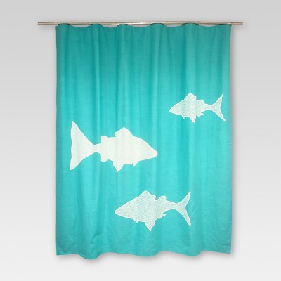 Fish Shower Curtain - Threshold™