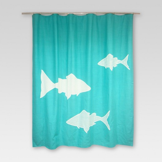 Fish Shower Curtains Target
